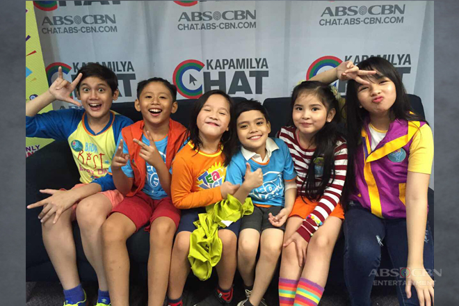 PHOTOS: Mitch, Nhikzy, Sophie, Lukas, Santino and Orange visit Kapamilya Chat