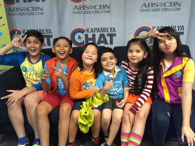 PHOTOS: Mitch, Nhikzy, Sophie, Lukas, Santino and Orange visit Kapamilya Chat