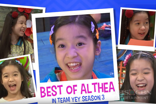 Best of Althea in Team YeY Season 3 | Bida Best List Image Thumbnail